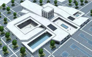 دانلود نقشه کامل فرهنگسرای هنر و معماری همراه رندرهای تریدی مکس