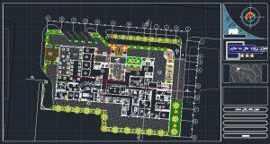 دانلود پروژه کامل طراحی فنی هتل