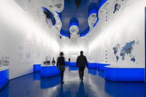 طراحی داخلی خلاقانه موزه آب لیسبون