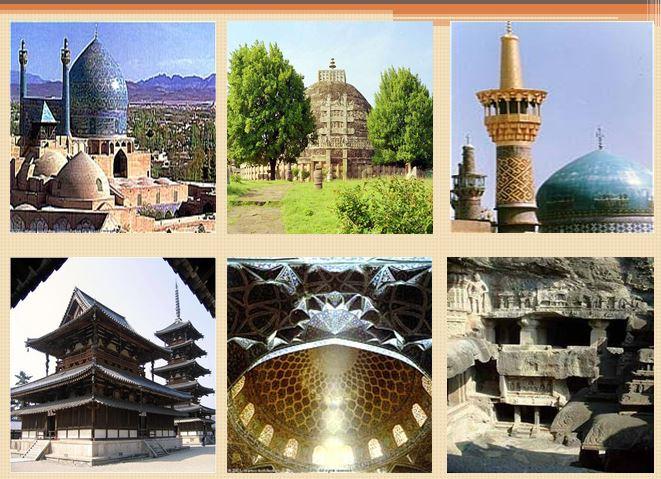مقایسه تطبیقی بین فضاهای معبد و مسجد