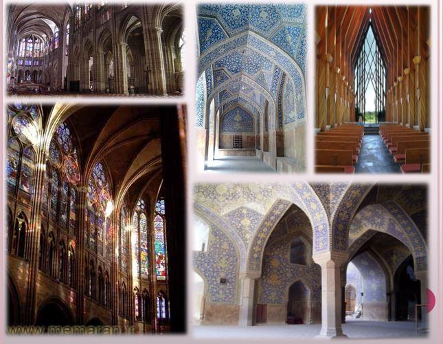 مقایسه مسجد و کلیسا از لحاظ کاربری،جایگاهی