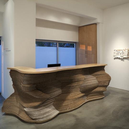 ECAA-cardboard-desk-front-view