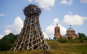 جشنواره سازه های عجیب در روسیه!