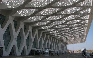 ترکیب معماری اسلامی و مدرن در فرودگاه بین المللی مراکش