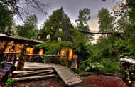 هتل شگفت انگیز کوه جادو در شیلی