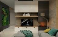 دکوراسیون داخلی آپارتمانهای مدرن با بتن پرداخت نشده!