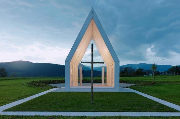 طراحی مینیمالیستی کلیسای ماریا در استرالیا