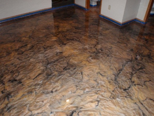 ECS North Ohio Reflector Custom Basement Epoxy Flooring 71