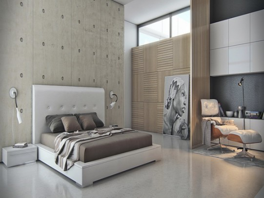 Futuristic-Monochrome-Bedroom-Furniture-Modern-Patterns-and-Bedroom-Designs-for-Luxurious-Bedding