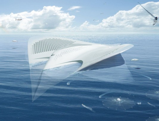 Jacques-Rougerie-Manta-Ray-Floating-City-3