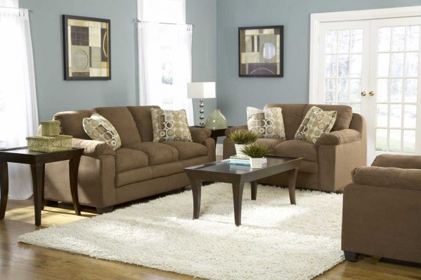 blue-living-room-brown-couch-best-design-ideas-3