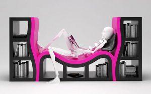 30 ایده خلاقانه طراحی قفسه کتاب!