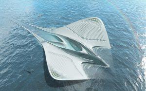 طراحی منحصر بفرد شهر شناور روی آب از معمار فرانسوی!