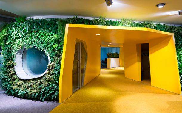 طرحی متفاوت برای ساختمان اداری Yandex در روسیه