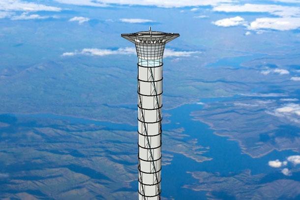 کانادا آسانسور فضایی می سازد !