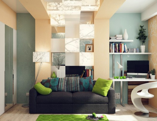 home-office-lounge-green-blue-interior-decor