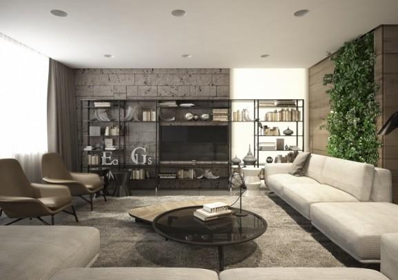 masculine-living-room