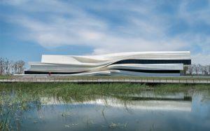 طراحی زیبای موزه هنرهای معاصر چین