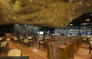 طراحی خیره کننده سقف رستورانی در فرانسه برای جلب توجه رهگذران!