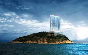 آبشاری معلق در هوا؛طراحی خیره کننده مشعل المپیک 2016برزیل!