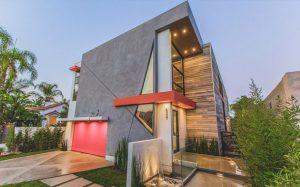 معماری ویلایی در لس آنجلس با ویژگی های منحصر بفرد!
