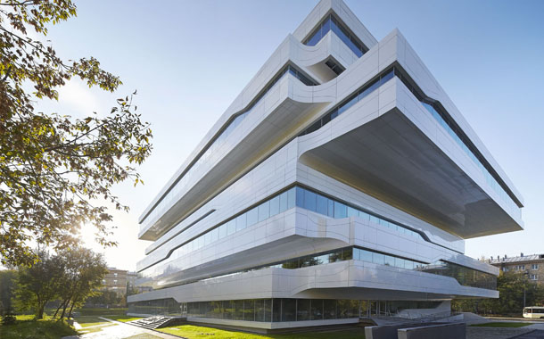 طرح جدیدی از زاها حدید؛ ساختمان اداری Dominion مسکو!