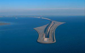 پل شگفت انگیز متصل کننده دانمارک به سوئد؛بلندترین پل معلق دنیا!