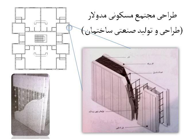 طراحی مجتمع مسکونی مدولار (طراحی و تولید صنعتی ساختمان)