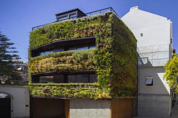 معماری سبز با طرحی خلاقانه در قلب لیسبون پرتقال