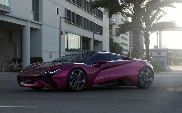 طراحی بی نظیر خودروی Vensepto با الهام از لامبورگینی!