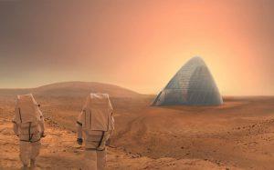 برنده مسابقه سکونتگاه مریخی ناسا!