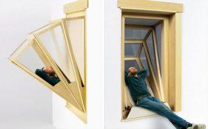 فضای بیشتر در آپارتمانها با طراحی بی نظیر پنجره More Sky!