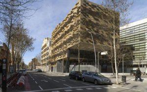 طراحی خلاقانه نمای چند لایه؛ مرکز تحقیقات اسپانیا!