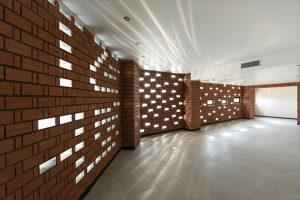 طراحی منحصر به فرد ساختمان اداری مسکونی روزنه ، بومهن