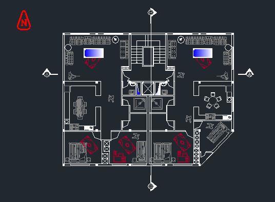 دانلود پروژه طراحی فنی ساختمان مسکونی