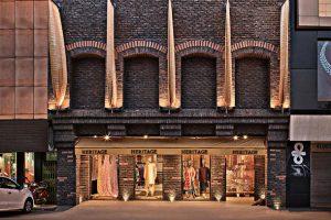 طراحی داخلی بوتیک لباس سنتی هندی
