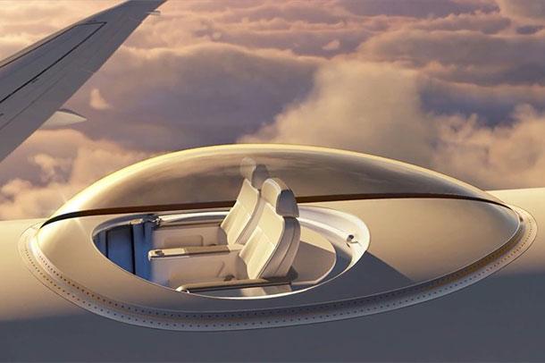 sky deck ; ایده ای که خستگی مسیر های هوایی را دلپذیر می کند