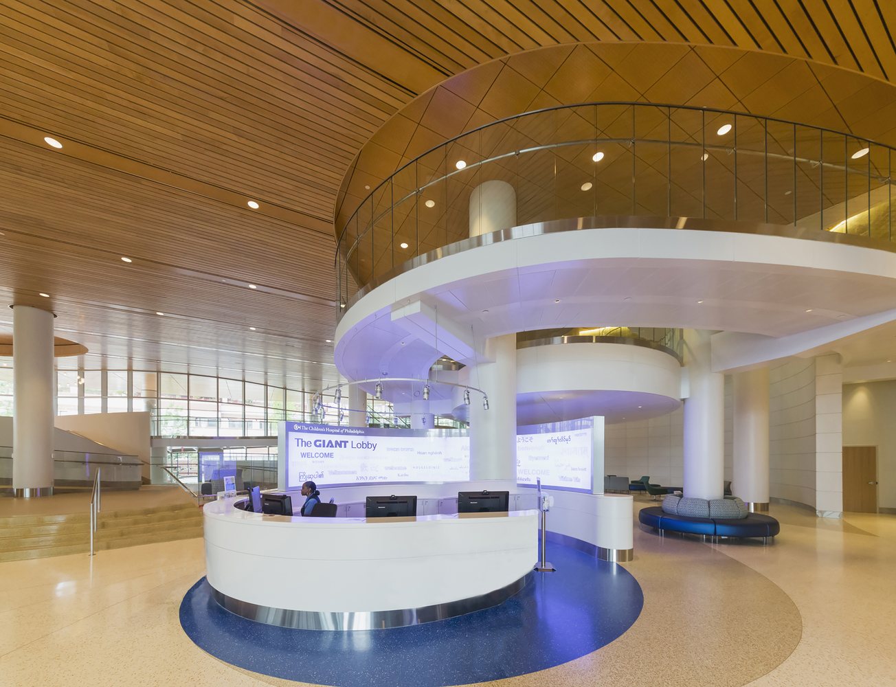 Buerger Center for Advanced Pediatric Care, Children's Hospital of Philadelphia, Location: Philadelphia, Pennsylvania, Architect: Pelli Clarke Pelli