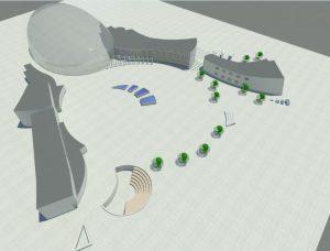 دانلود نقشه کامل خانه موسیقی همراه با فایل 3dmax