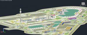 دانلود نقشه کامل مجتمع خدماتی بین راهی