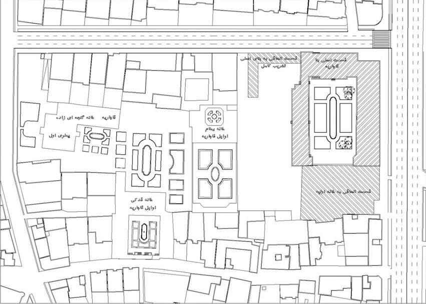 دانلود رساله ساماندهی و بهسازی خانه صدقیانی تبریز