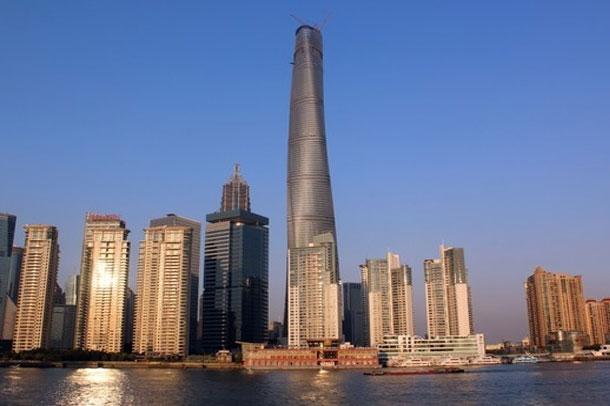 برج شانگهای دومین ساختمان بلند جهان شد