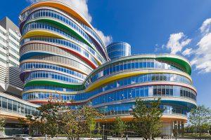 بورگر سنتر ساختمانی پر از منحنی های خارق العاده