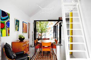 تبدیل گاراژ به مکانی شیک برای زندگی - کاری از گروه معماری austin maynard