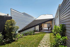 خانه ای به شکل بادبادک/استرالیا