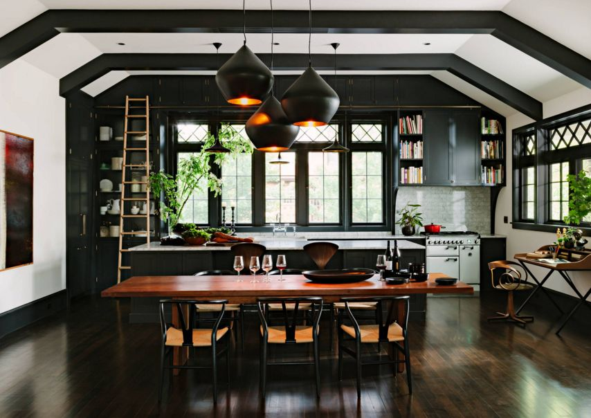Black-and-light-kitchen