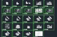 دانلود نقشه اتوکدی کامل مجتمع مسکونی همراه با پرسپکتیو