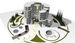 دانلود نقشه اتوکدی کامل هتل سه ستاره همراه با فایل 3dmax