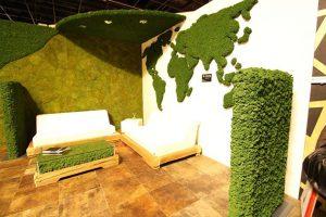 ایده جدید در نمایشگاه Cologne: استفاده از مواد الهام گرفته از طبیعت در دکوراسیون داخلی