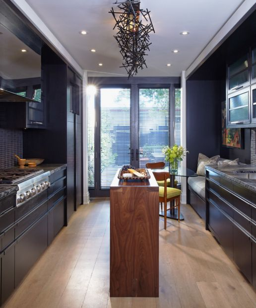 Small-black-kitchen